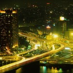 ОБОИ: Ночная Москва.