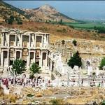 Места отдыха в Турции — Город Эфес в Турции.