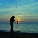 Рыбалка на Азовском море.