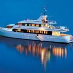 Прогулки и путешествия на яхте в Турции.