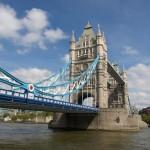 Тауэрский мост и река Темза.