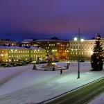 Самый длинный фильм на площади в Хельсинки