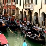 Ежегодные гонки гребневых судов в Венеции