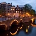 Центр города Амстердам