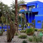 Необычный сад в Марокко